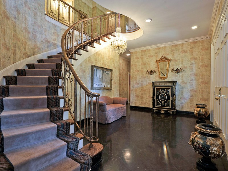 Foyer Stairs For Sale : Stunning belle meade estate for sale at jackson