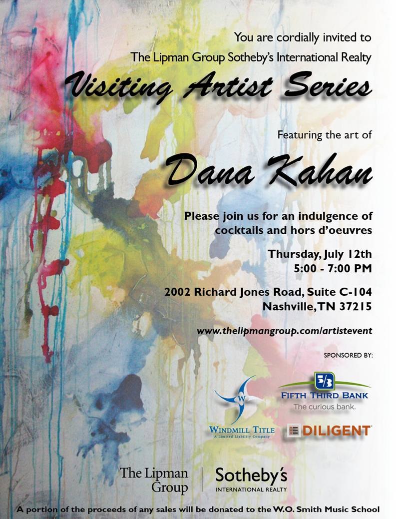 RE/MAX Homes and Estates Invites you to our Visiting Artist Series