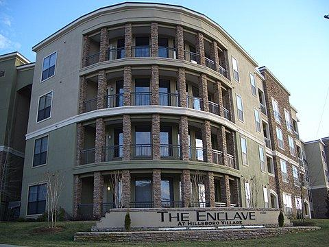This rare ground floor condo for sale at The Enclave has it all! Granite counter tops, stainless steel appliances, wine cooler, high ceilings, arched doorways, lovely light fixtures & neutral paint. Walk to Hillsboro Village, immediate access to I-440, close to Vanderbilt. The Enclave amenities include concierge, gym, wine room, club lounge. Click on the image for more photos and information from RE/MAX Homes and Estates.