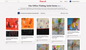 For those unable to come into our office, check out Dana's pieces here on our visiting artist Pinterest board.