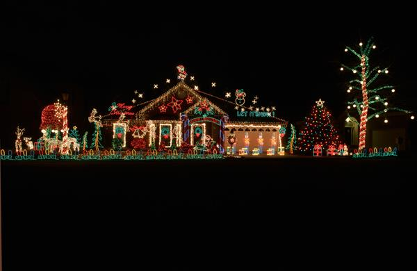one of the 2014 nashville holiday lights winners what do you think