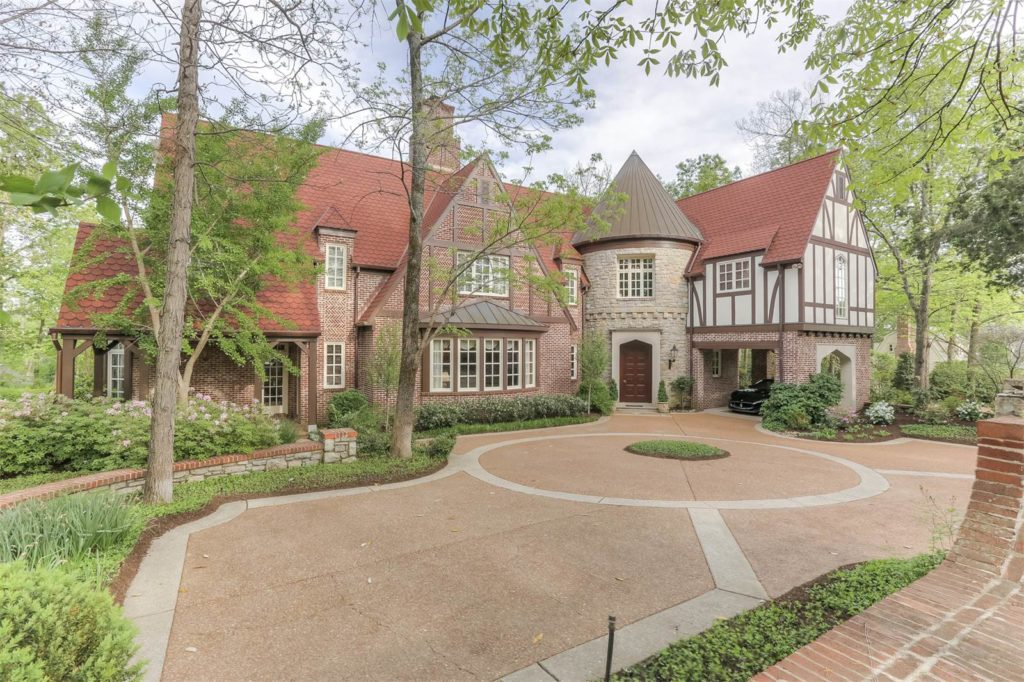 Tudor Style Homes for Sale in Nashville - Truly Luxurious Tudor in Belle Meade